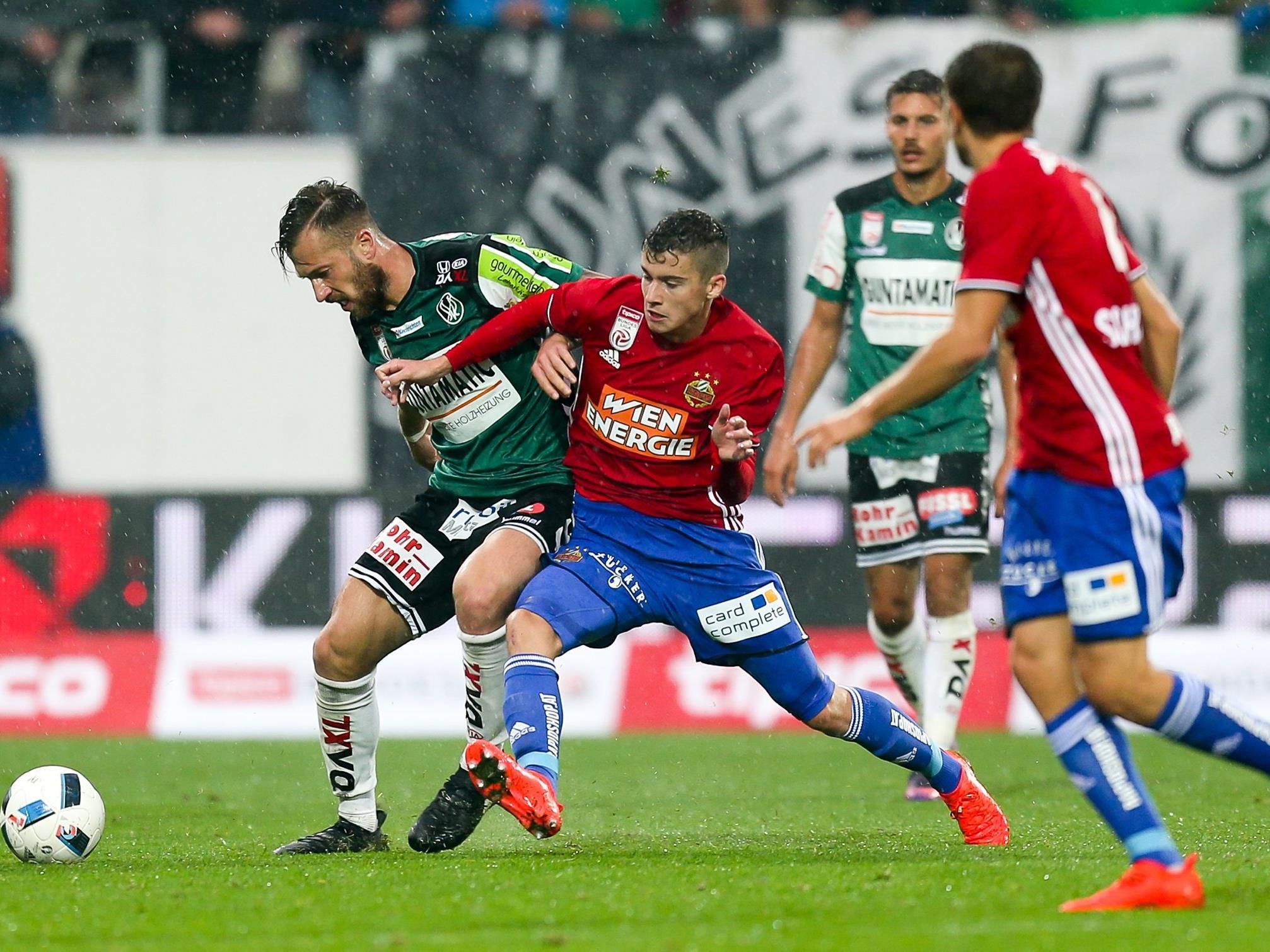 Rapid empfängt im letzten Heimspiel des Jahres die SV Ried.