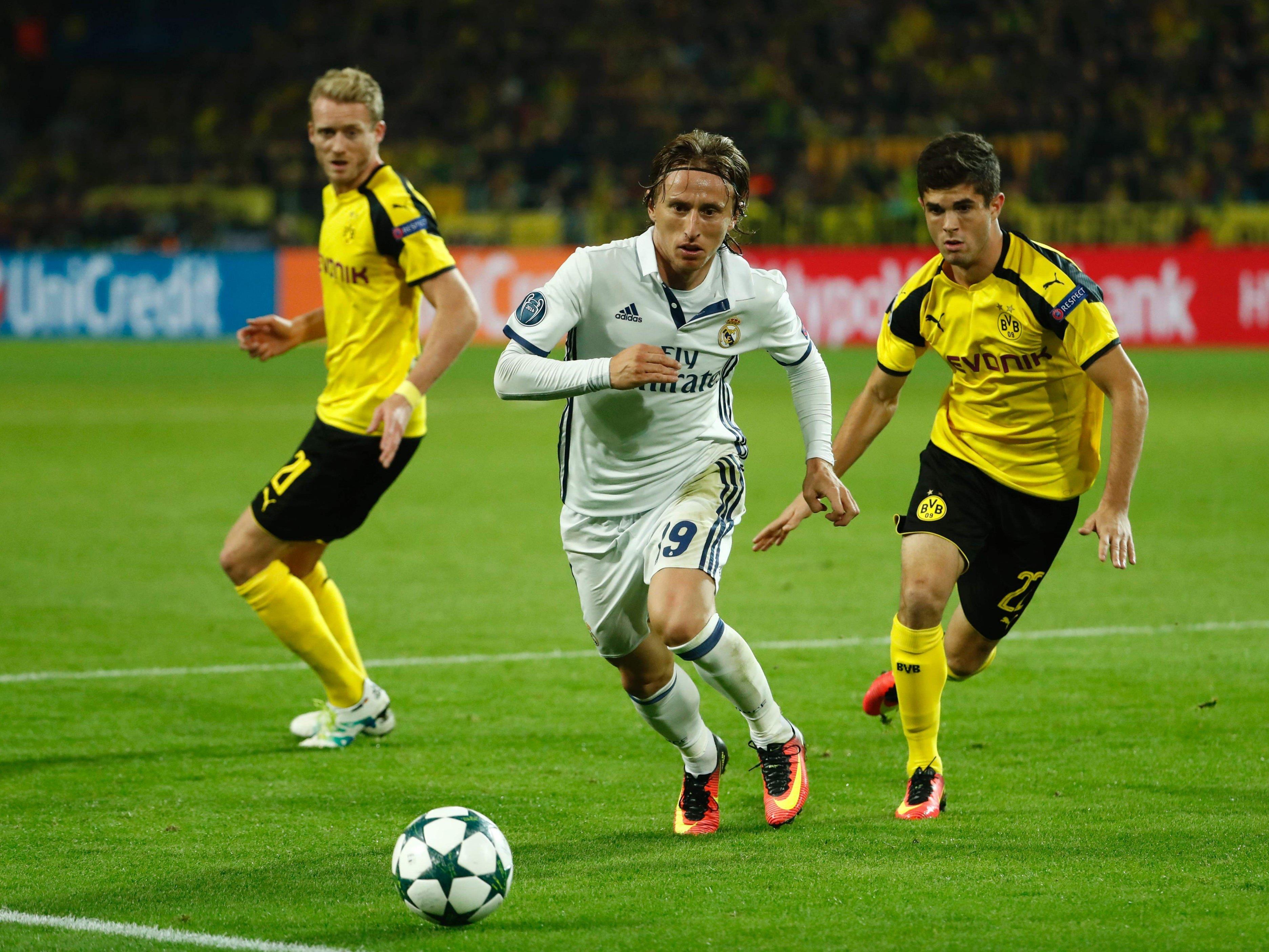 Real Madrid empfängt am letzten Spieltag der Gruppenphase Borussia Dortmund.
