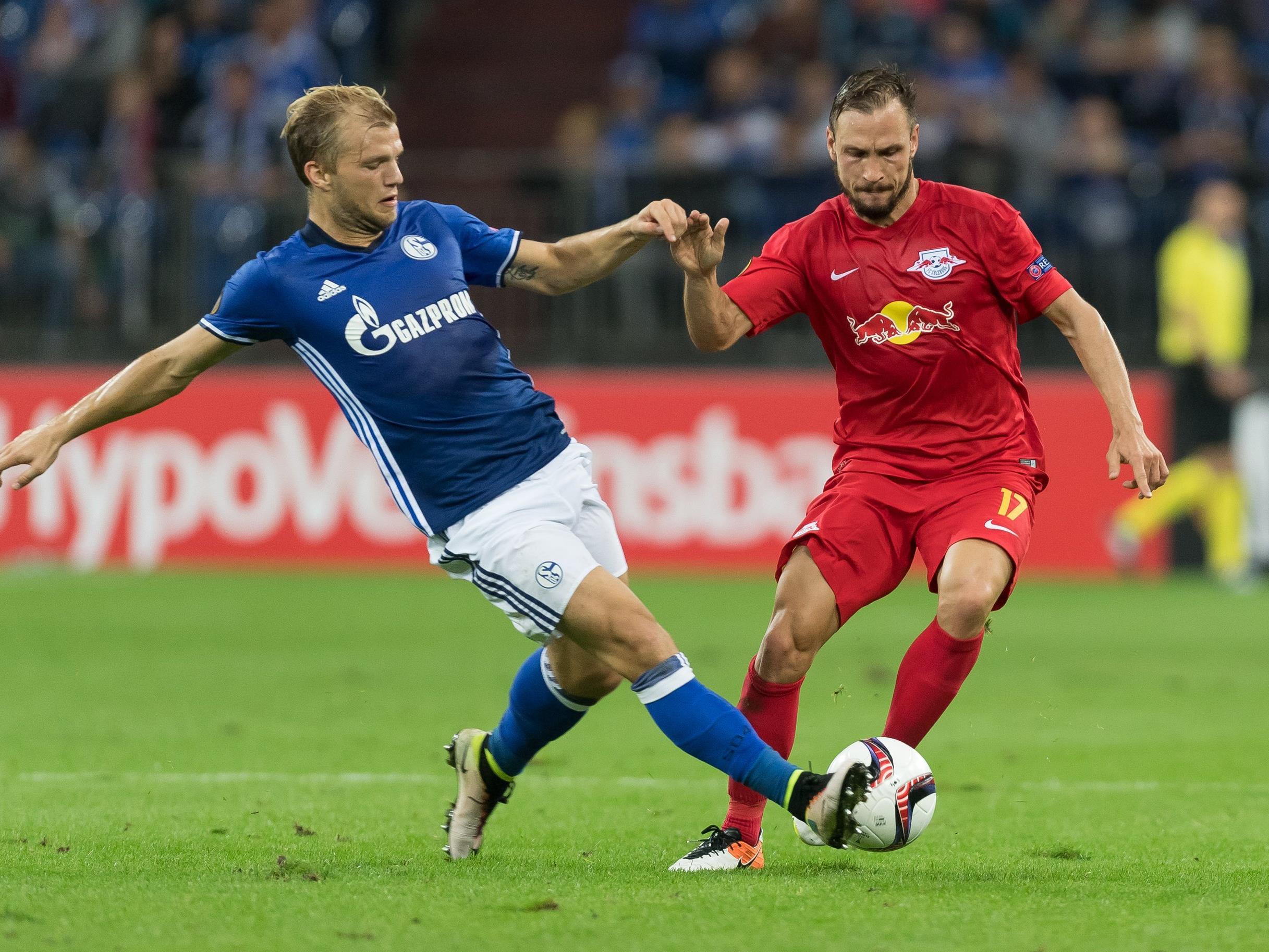 Salzburg spielt zum EL-Abschluss gegen Schalke.