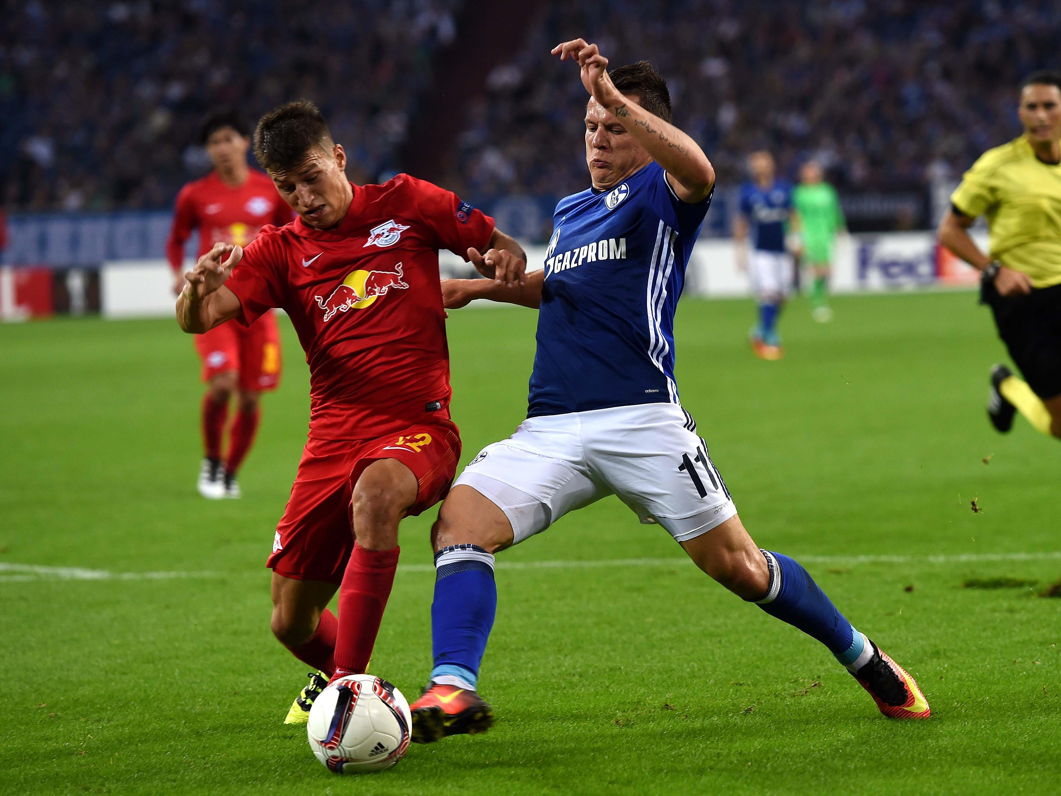 Red Bull Salzburg empfängt zum Abschluss der EL-Gruppenphase Schalke 04.