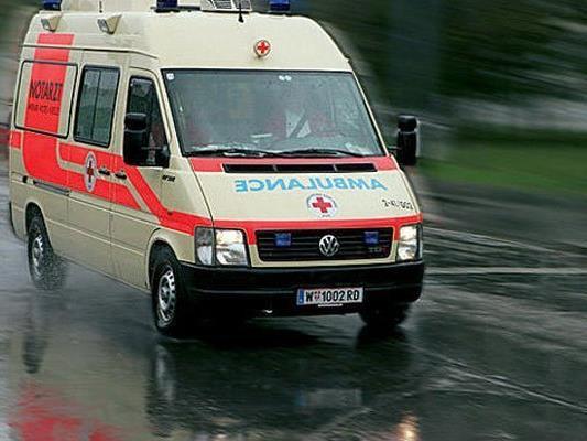 Die Frau wurde mit Verletzungen ins Spital gebracht.