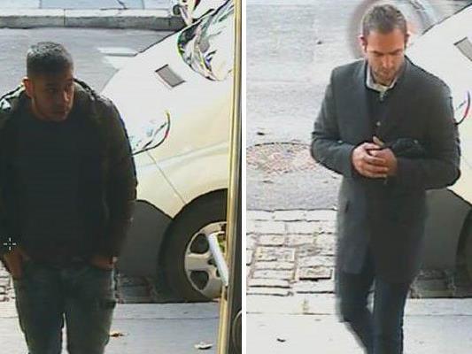 Diese beiden Männer werden polizeilich gesucht