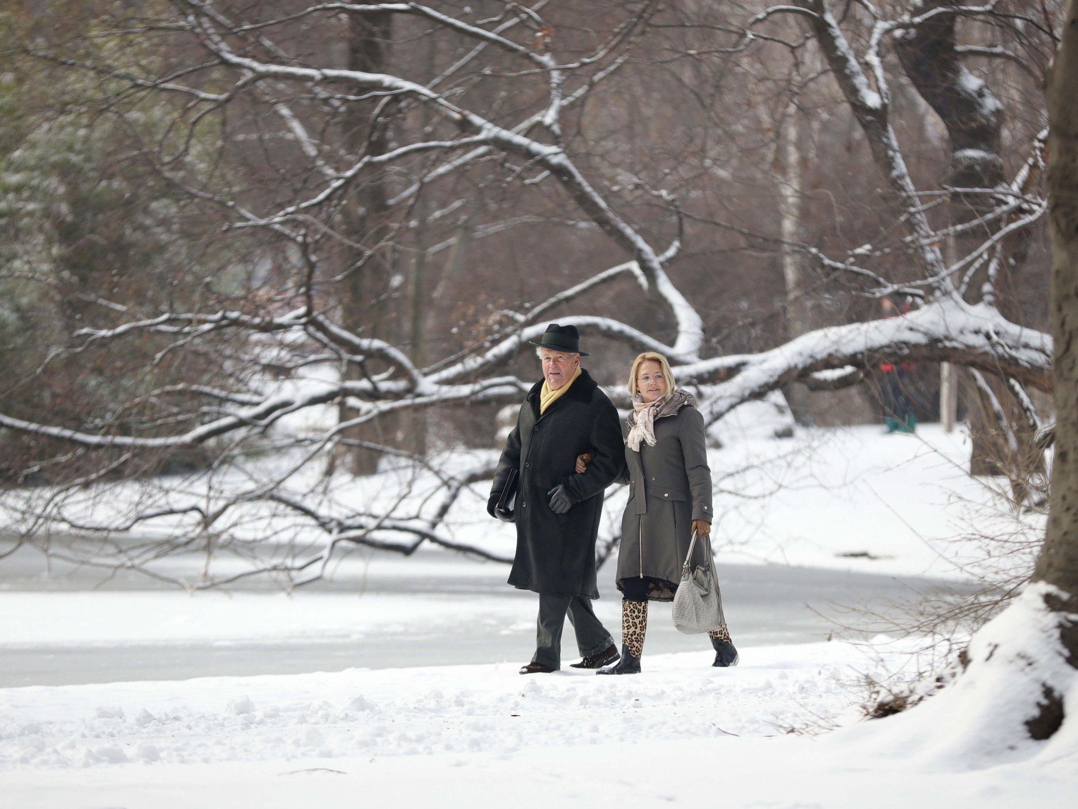 Werden wir auch am 24. Dezember 2016 im verschneiten Wiener Stadtpark lustwandeln können?