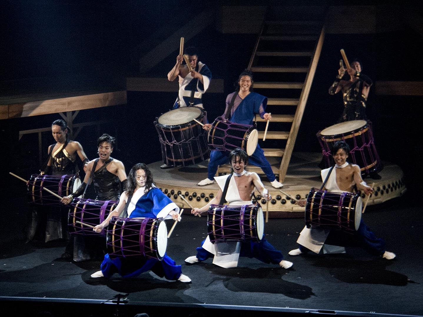 """Bei der Show """"TAO - Samurai of the drums"""""""