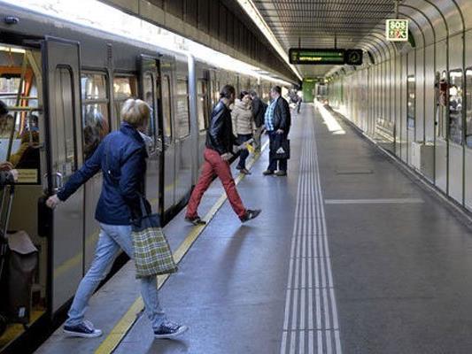 In einer U4-Station kam es zu der Festnahme