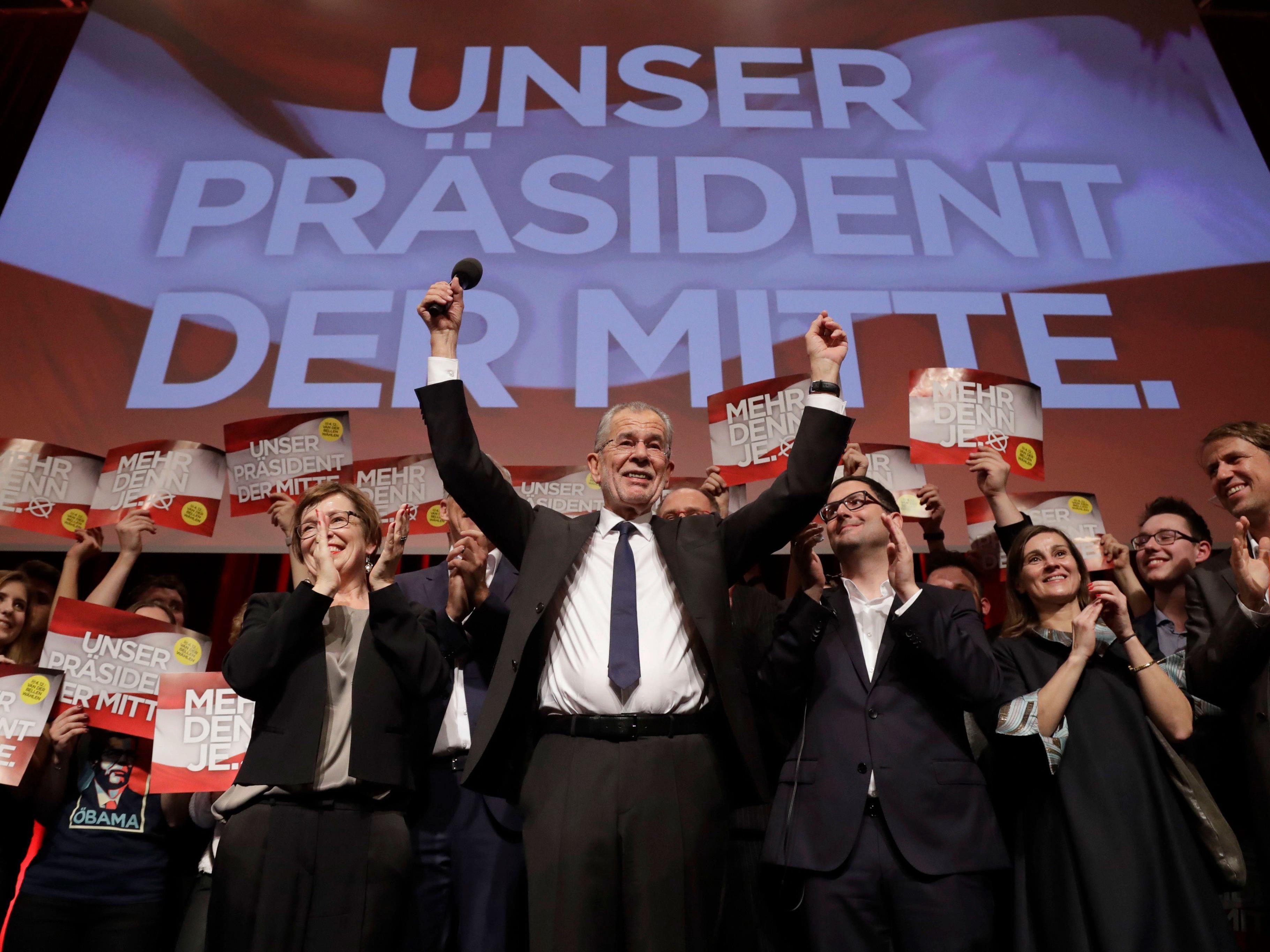Alexander Van der Bellen steht endgültig als neuer Bundespräsident fest