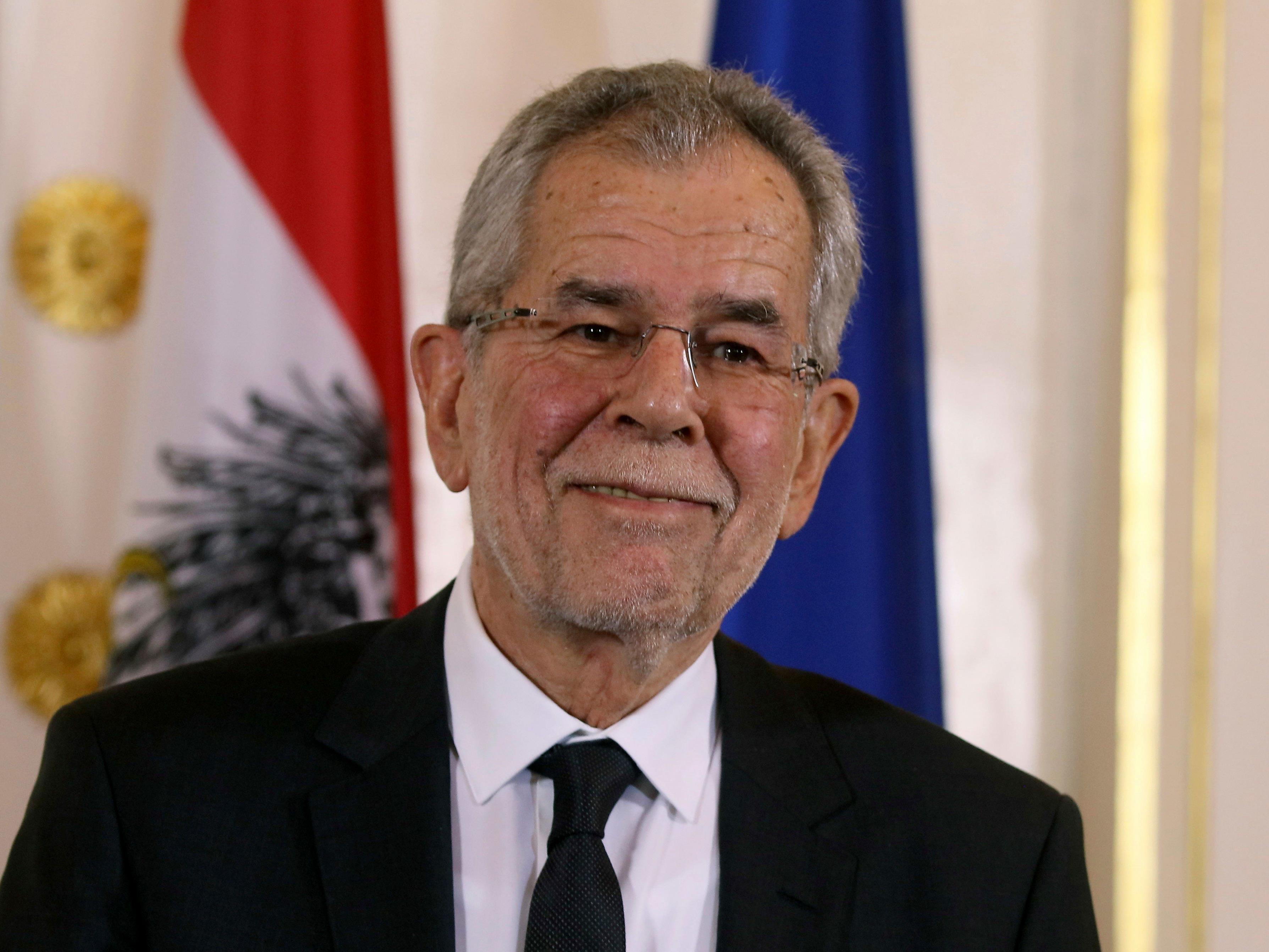 Alexander Van der Bellen ist nun offiziell Bundespräsident