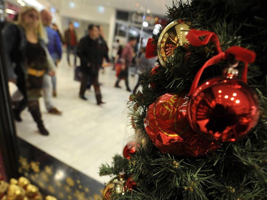 Viel Shopping wird am 08. Dezember in Wien erledigt.