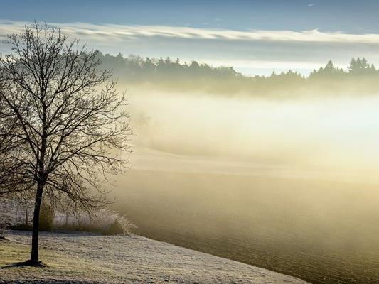 Eine Kaltfront macht am Christtag einen Hauch von Winter möglich.