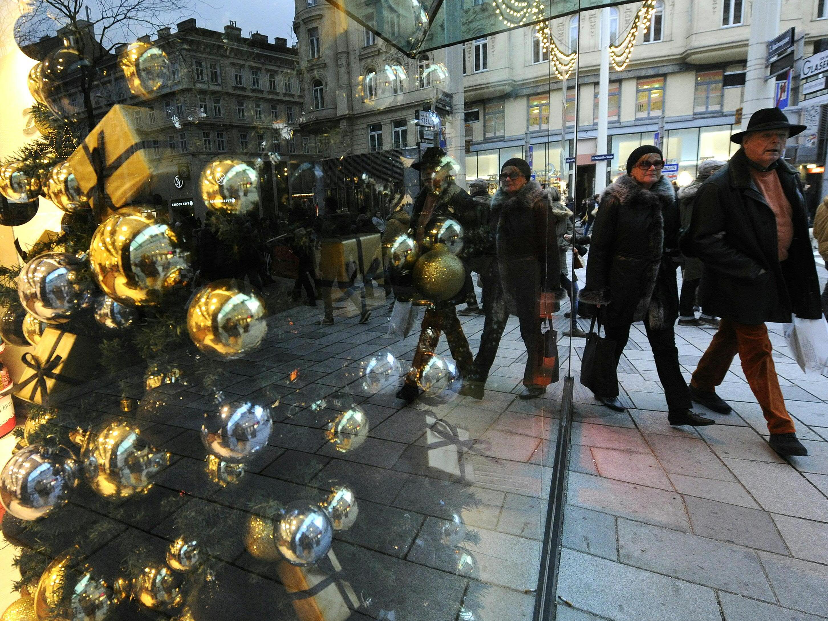 Beim Wiener Weihnachtsgeschäft gibt es heuer noch Luft nach oben