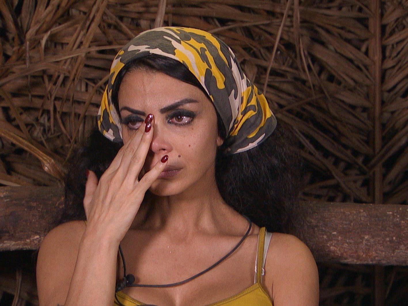 Dschungelcamp Tag 3: Kader Loth ist mit ihren Nerven am Ende.