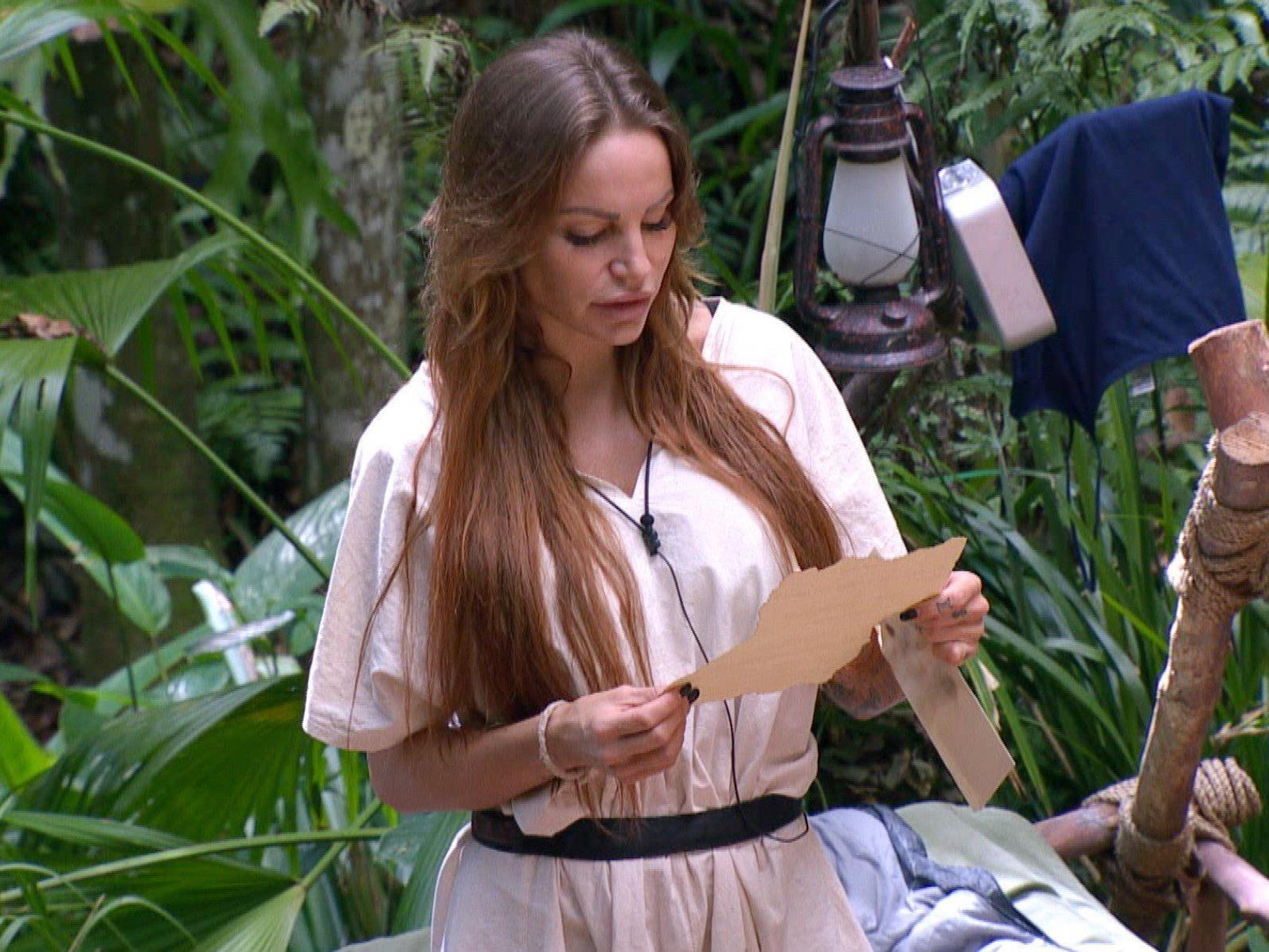 Gina Lisa muss am 11. Tag das Dschungelcamp verlassen.
