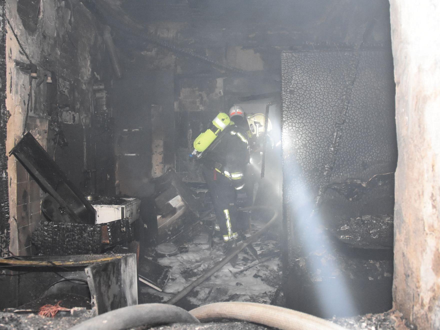 Die Explosion in Hernals forderte ein Todesopfer