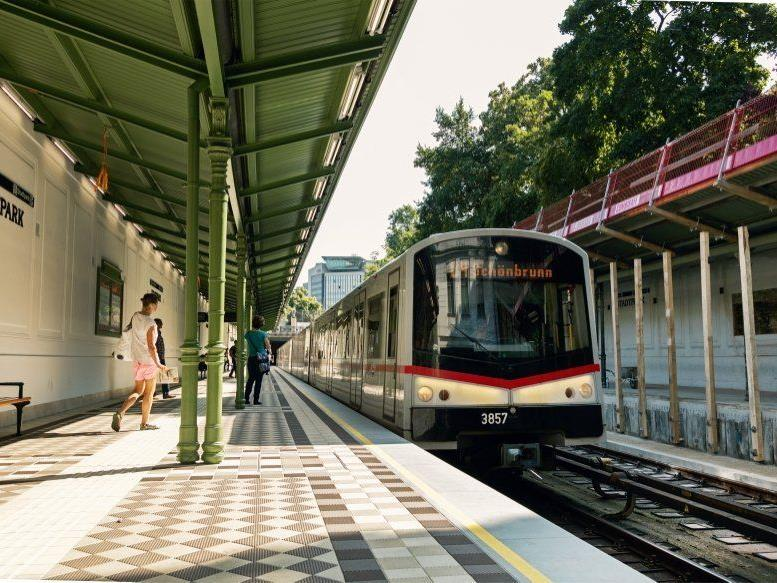 Ab dem 30. Jänner hält die U4 wieder an beiden Bahnsteigen der Station Stadtpark.