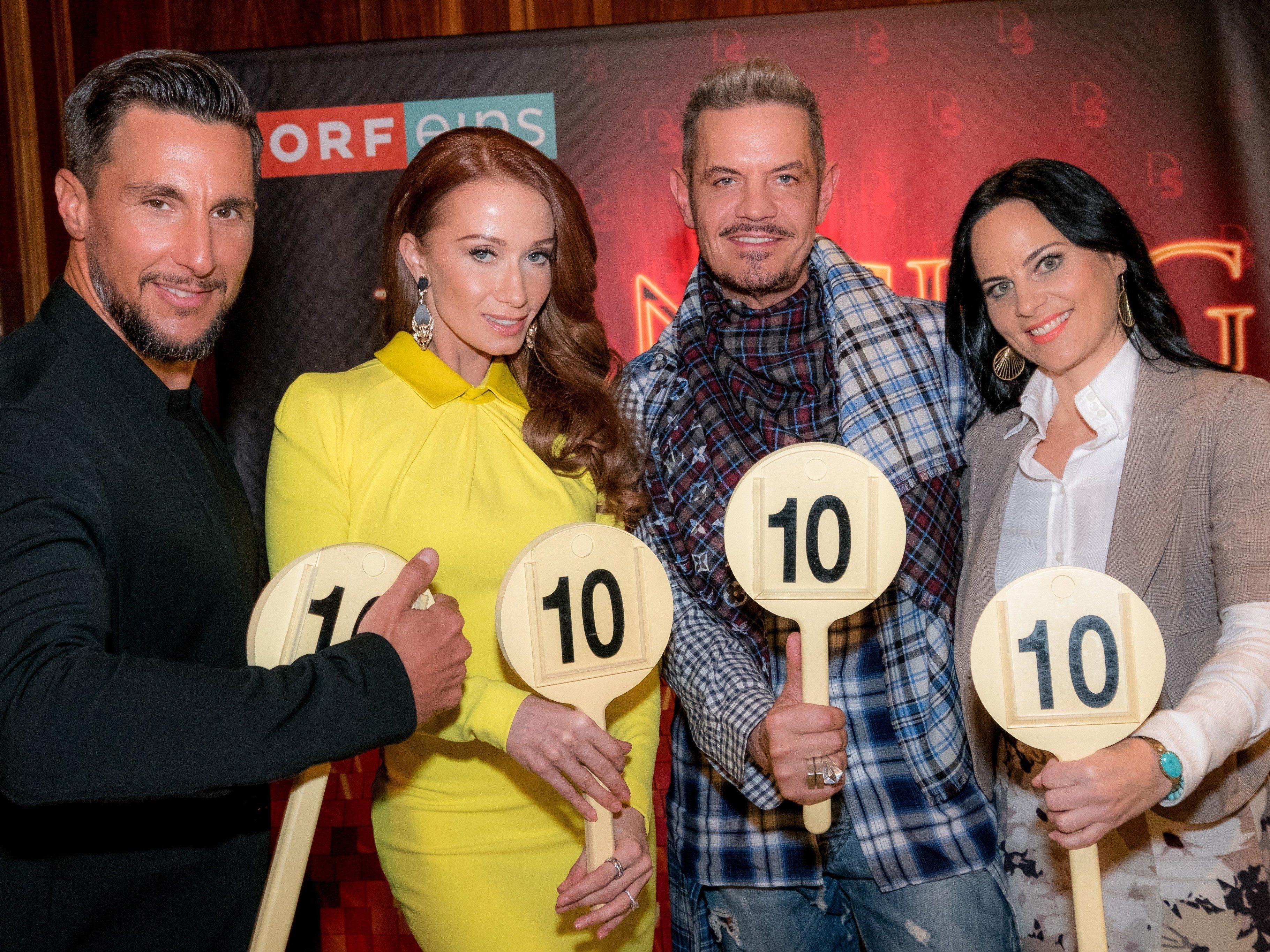 Das ist die Dancing Stars-Jury 2017: Dirk Heidemann, Karina Sarkissova, Nicole Burns-Hansen und Balázs Ekker