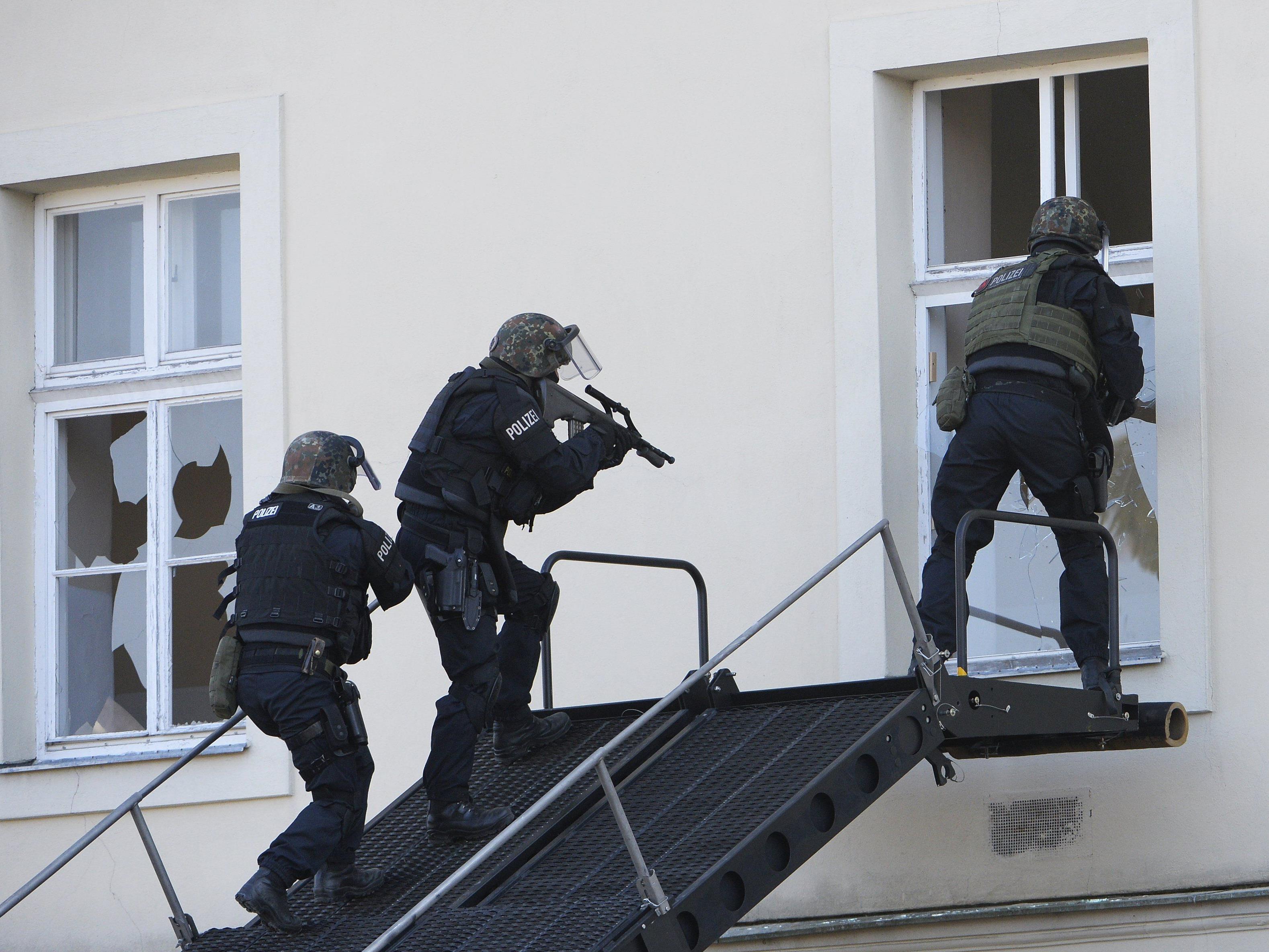 Der Terrorverdächtige wurde nahe seiner Wohnung in Wien festgenommen.