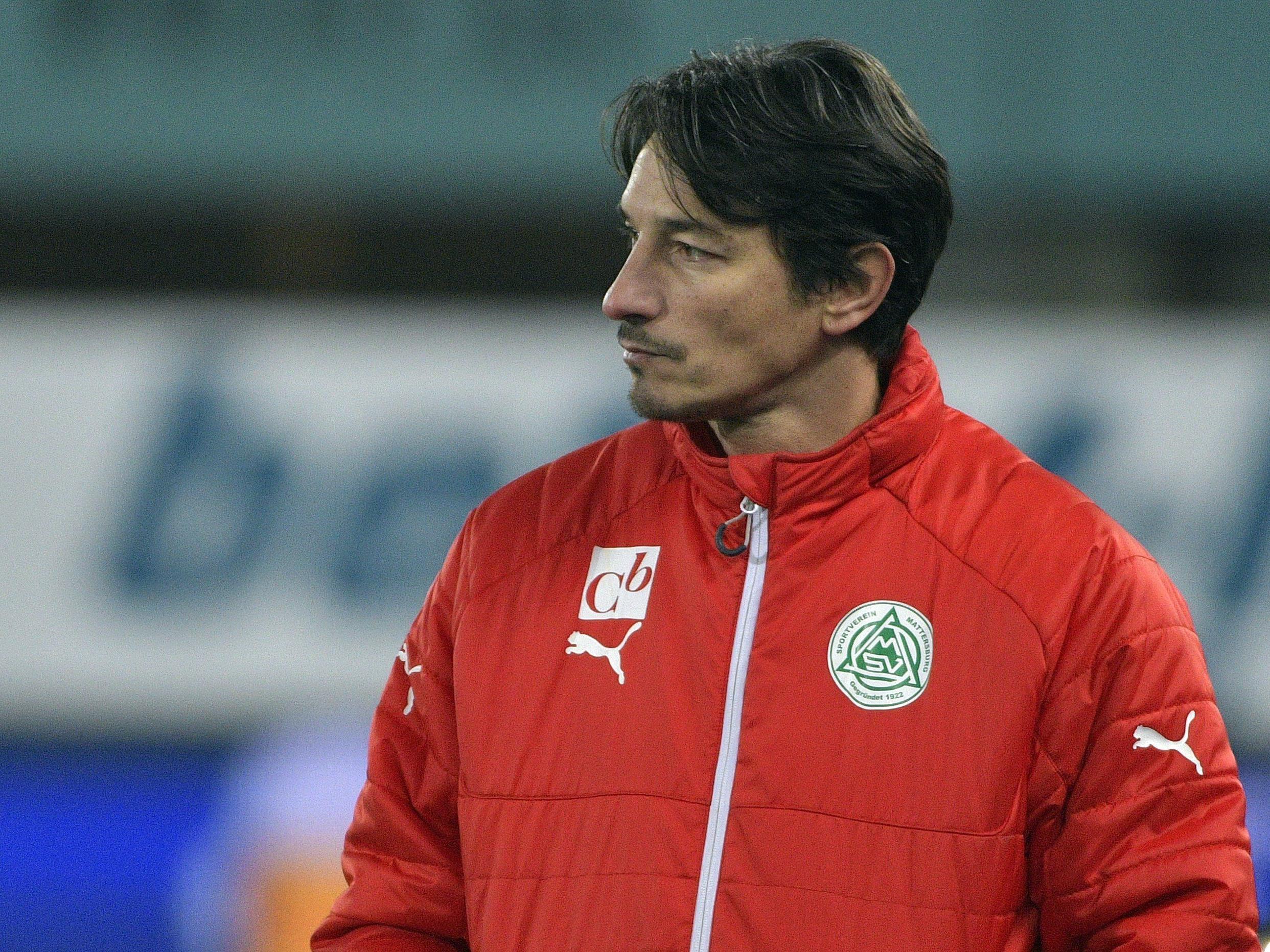 Ivica Vastić ist nicht mehr Trainer des SV Mattersburg.