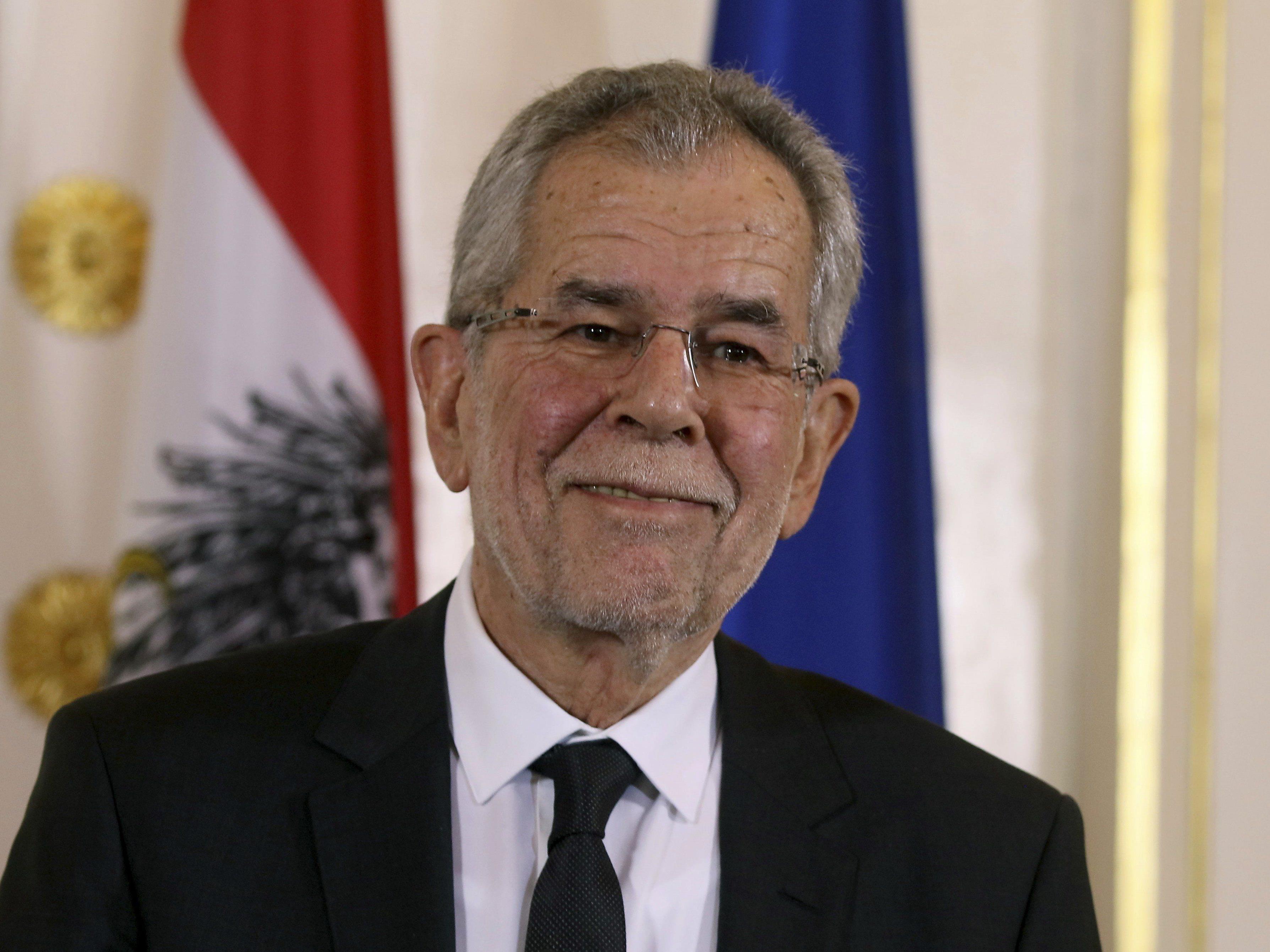 Am 26. Jänner wird Alexander Van der Bellen als Bundespräsident angelobt.