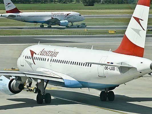 Eine AUA-Maschine nach Salzburg ist außerplanmäßig in Linz gelandet
