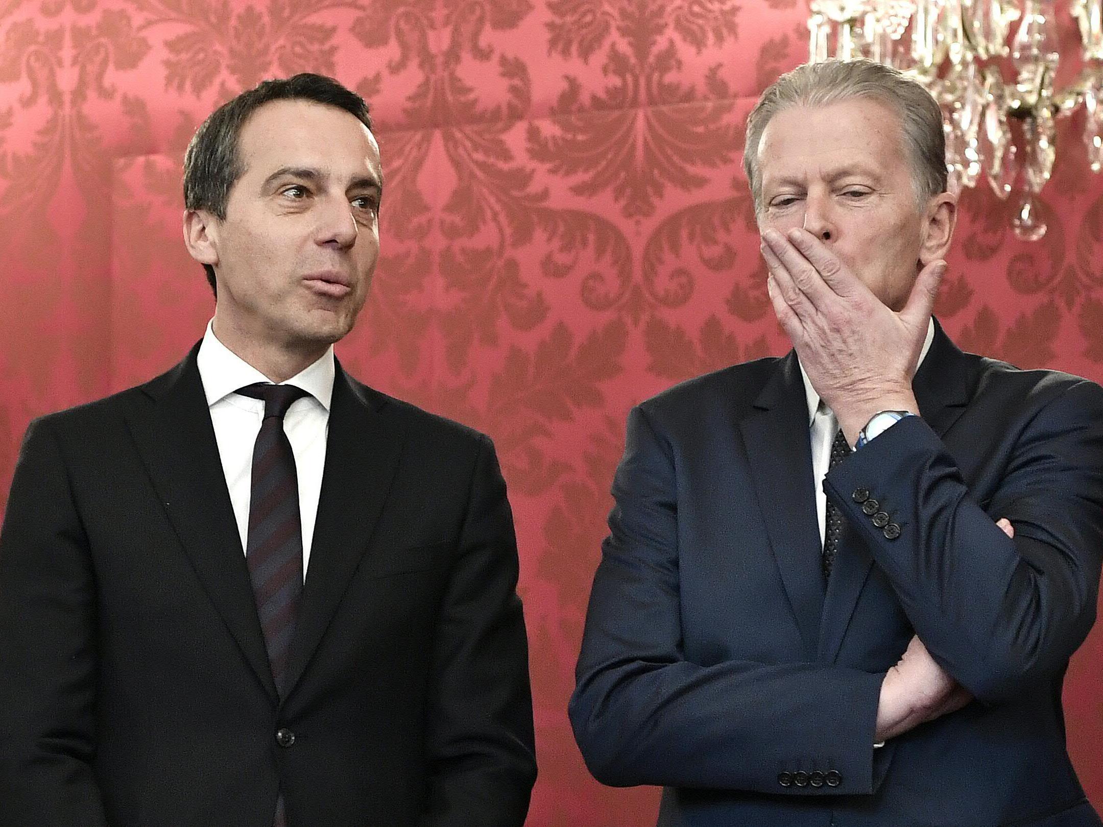 Seit Mai 2016 führt Kanzler Christian Kern die Regierungskoalition.