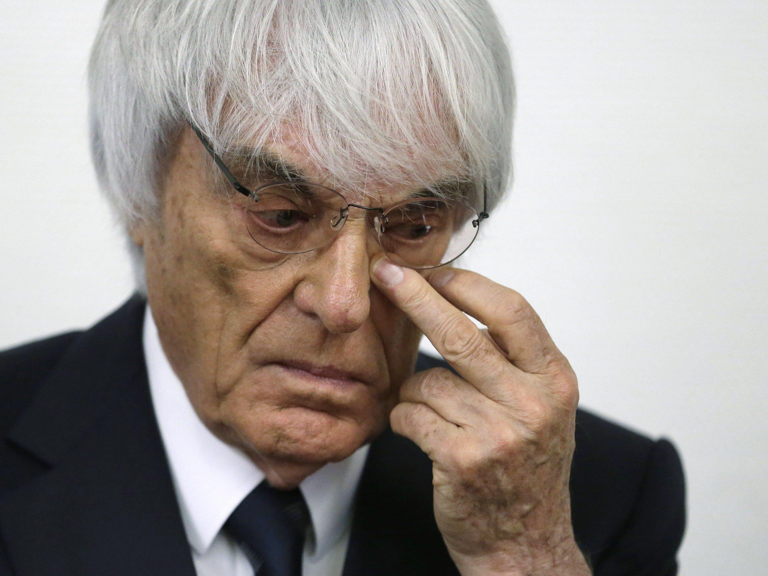 Bernie Ecclestone ist nicht mehr Formel-1-Geschäftsführer.