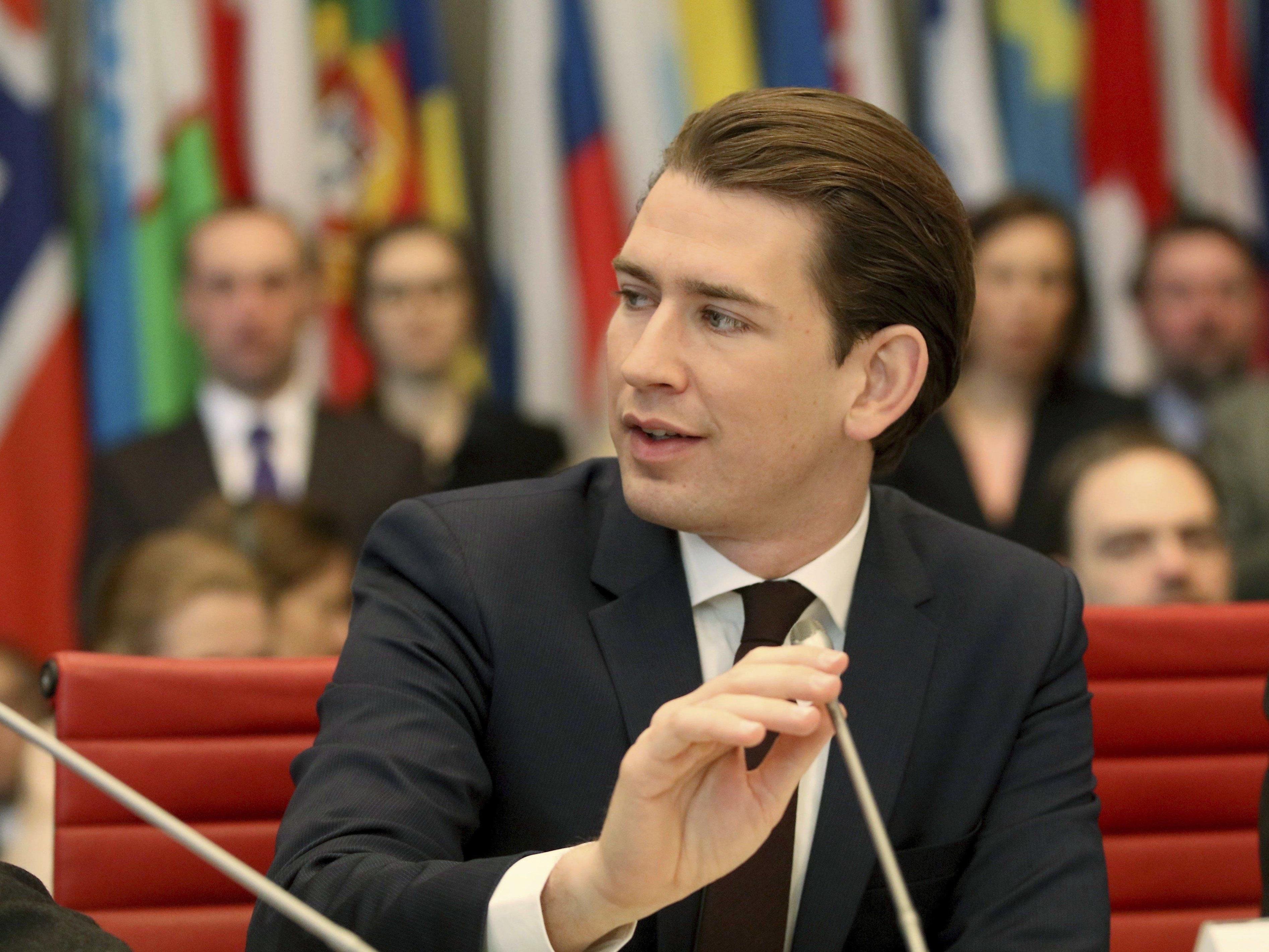 Außenminister Kurz punktet bei Jungwählern