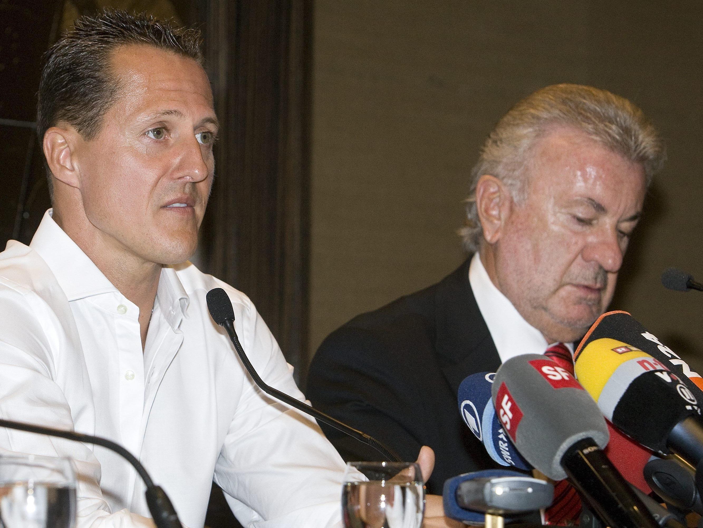 Weber (rechts) mit harter Kritik an Familie.