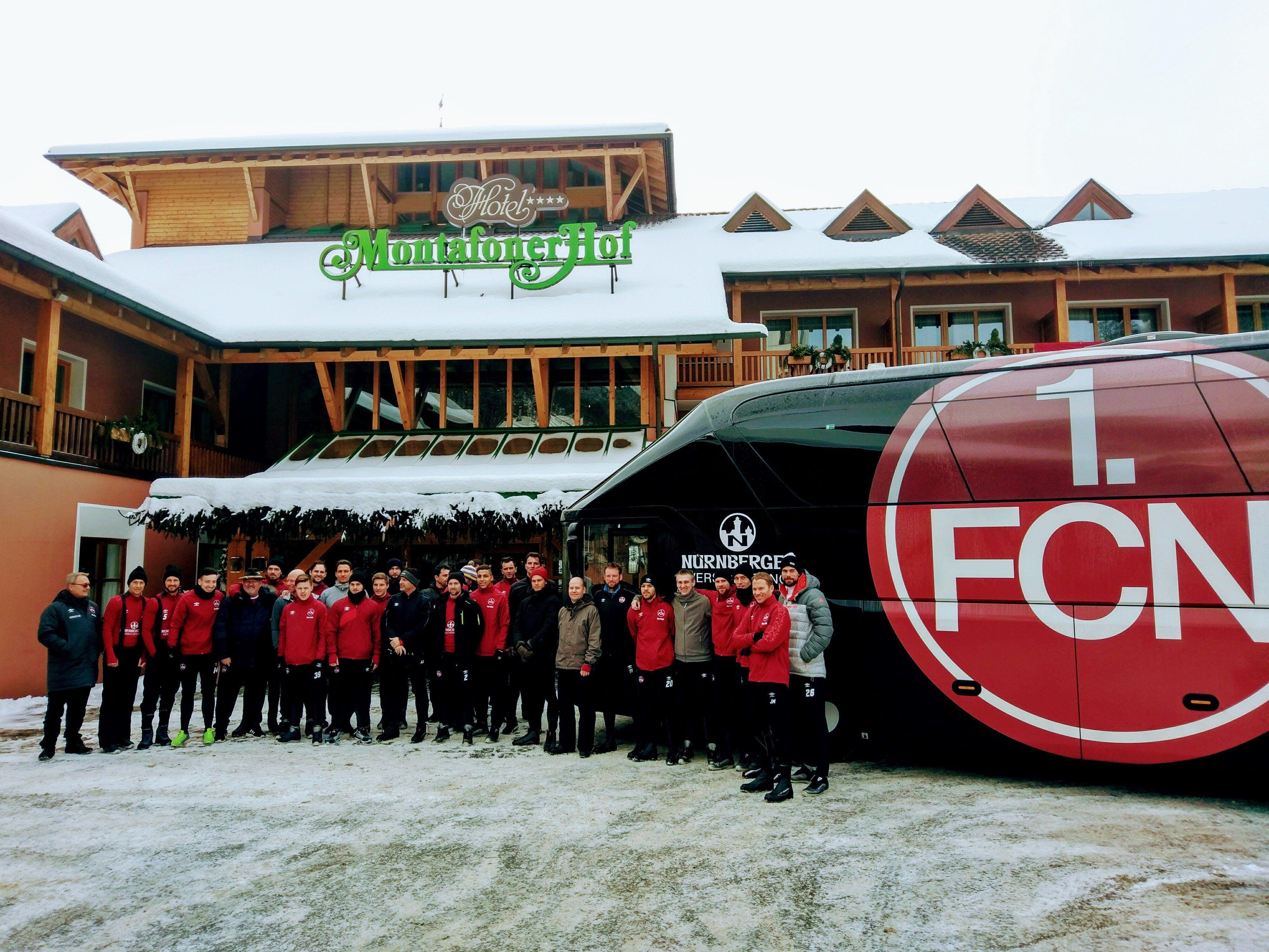 Vier Tage trainierte 1.FC Nürnberg im Montafon und in Hard und war im Montafonerhof untergebracht