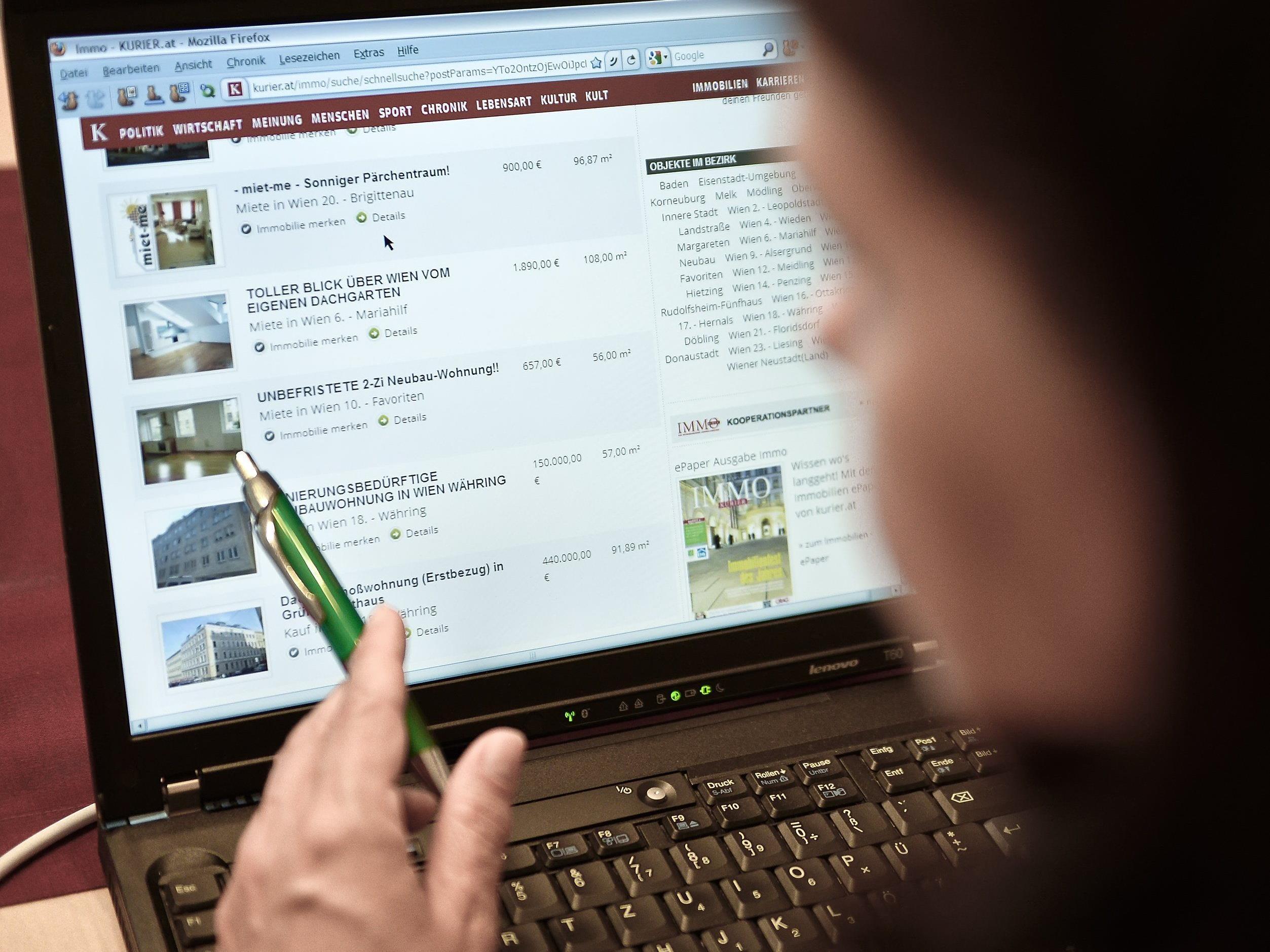 Die Österreicher suchen nach kleineren Wohnungen