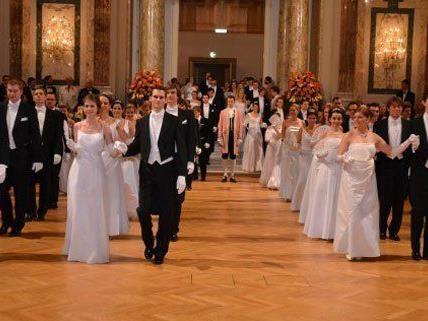 Der Ärzteball findet wieder in der Wiener Hofburg statt.