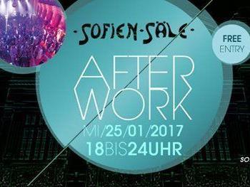 Sofiensäle Afterwork am 25. Jänner bei freiem Eintritt.