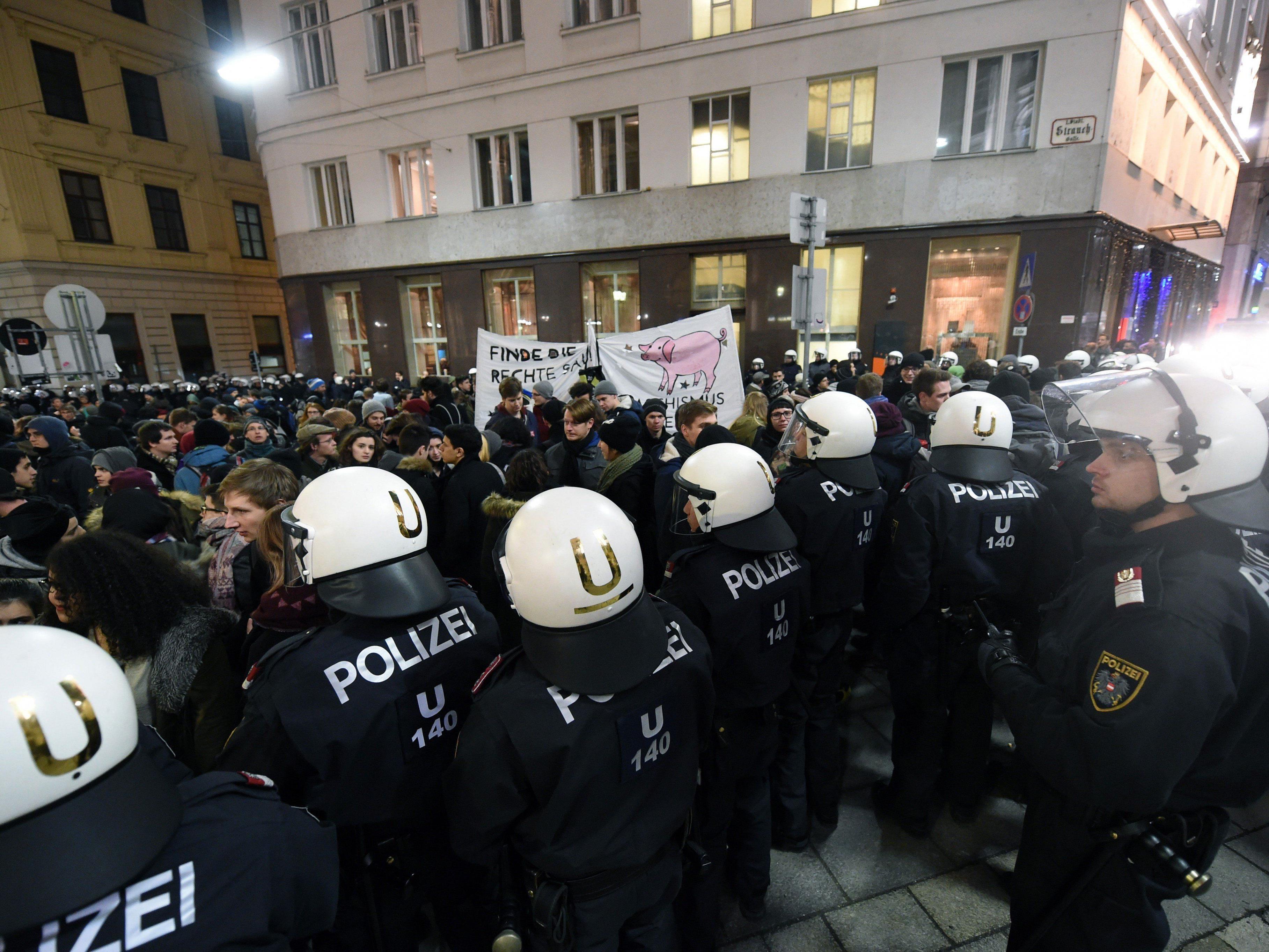 Proteste gegen den Akademikerball sind auch heuer wieder zu erwarten