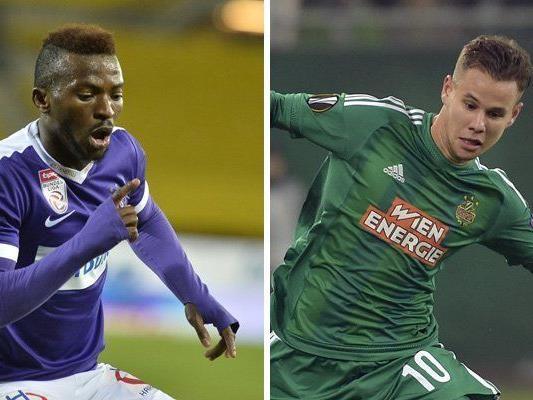 Austria und Rapid Wien hoffen auf ein erfolgreiches Frühjahr.