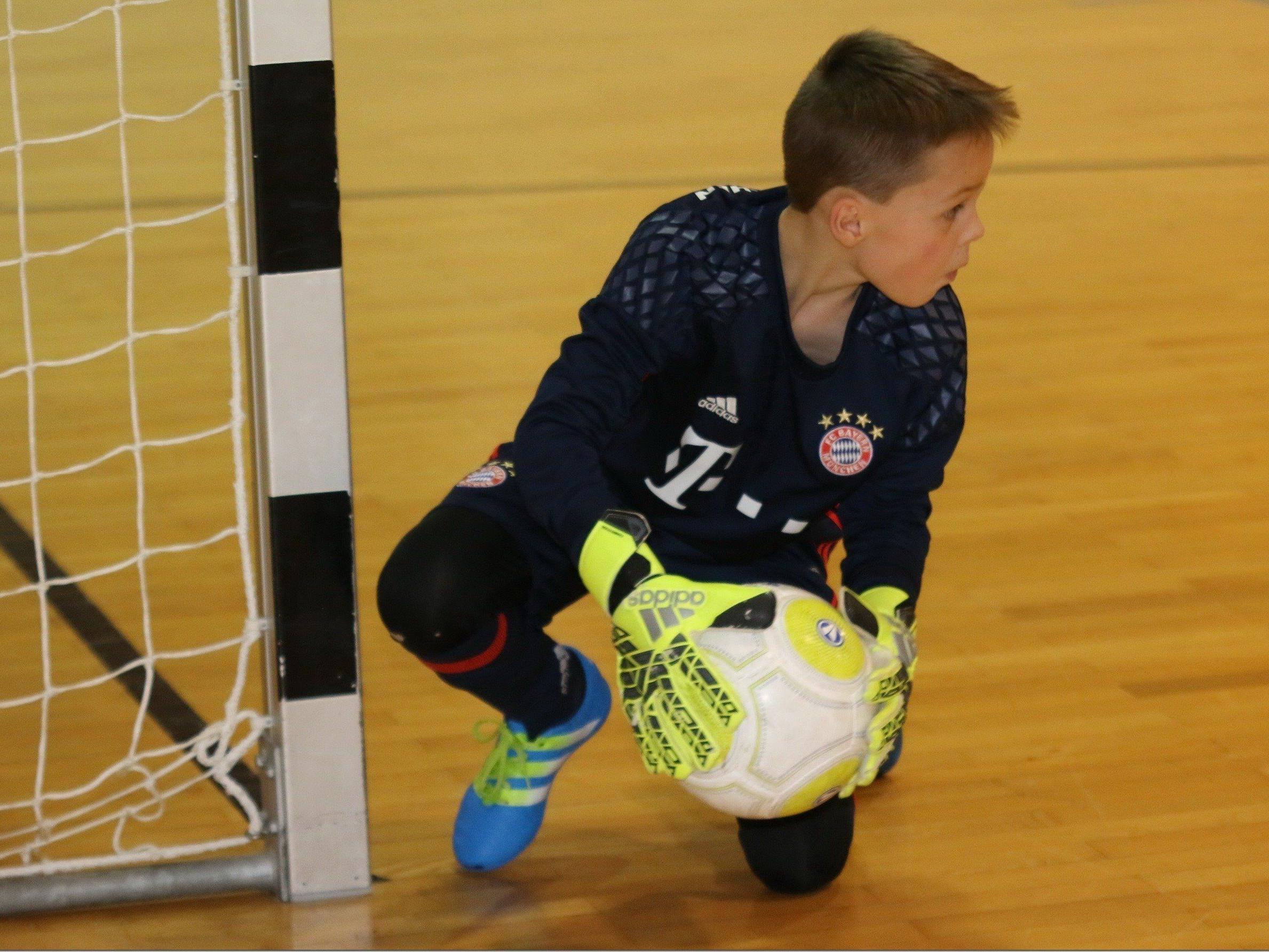 Schlins spielte gegen die Bayern
