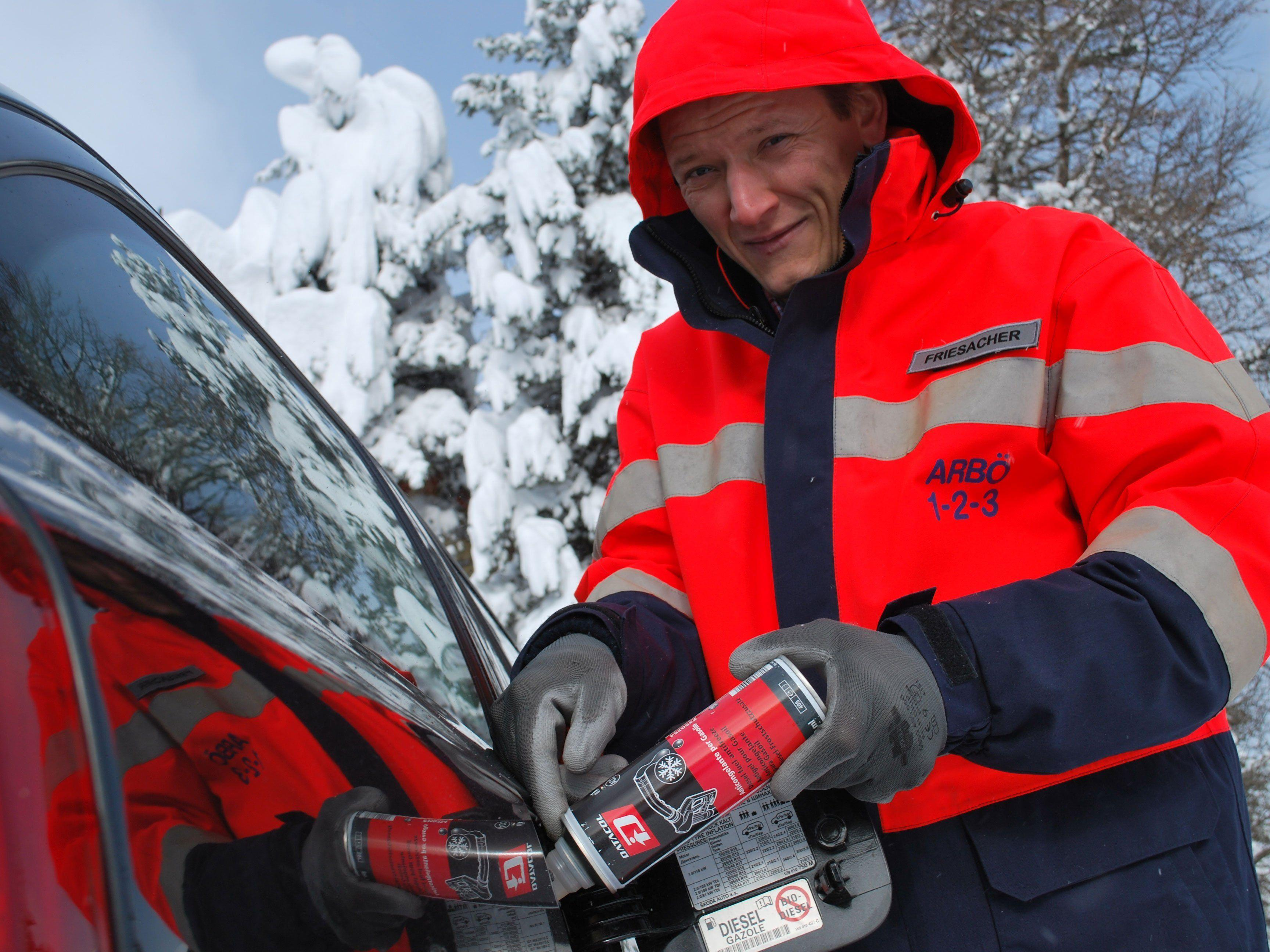 Dieselfrostschutz hilft bei eingefrorenem Kraftstoff