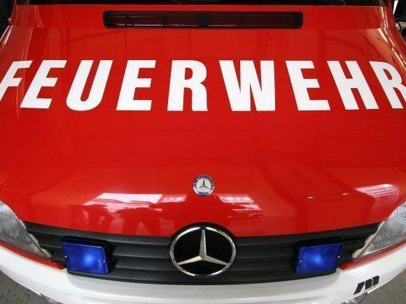 Zwölf Personen wurden bei dem Brand in Wiener Neusord von der Feuerwehr gerettet.