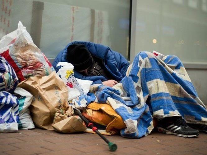 Der Winter kann tödlich für Obdachlose werden.