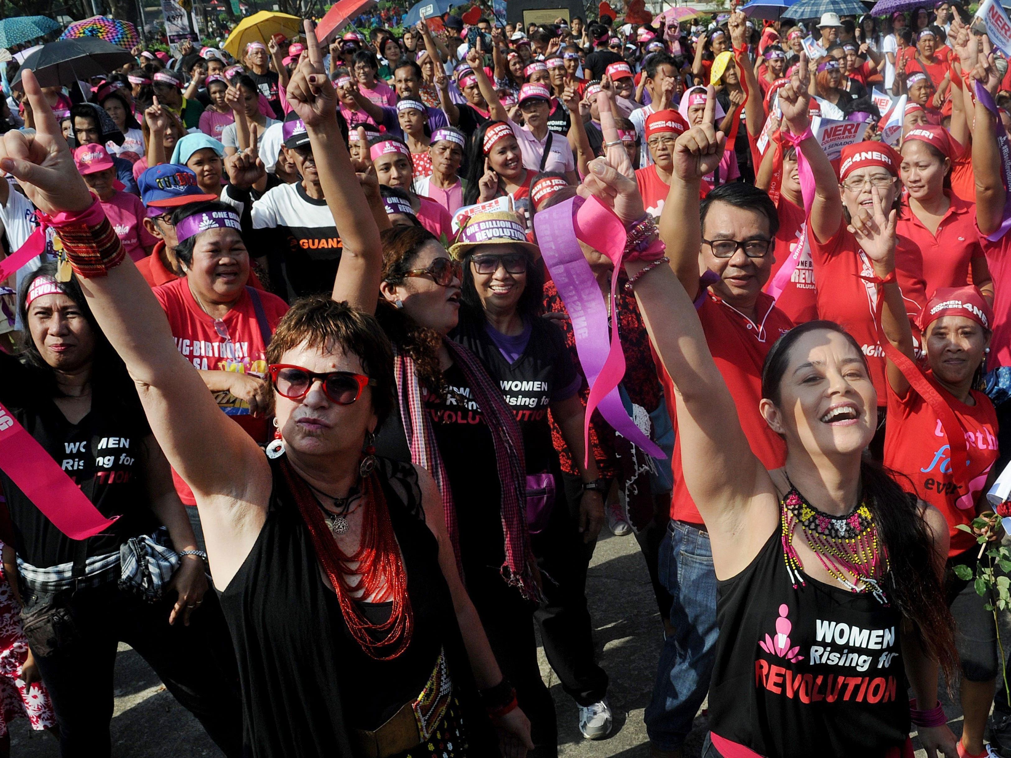 One Billion Rising: Am 14. Februar wird auf der ganzen Welt demonstriert