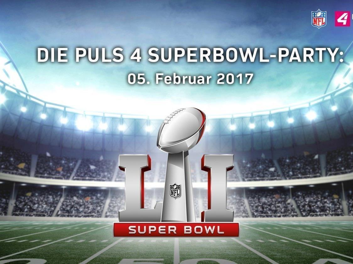 Am 5. Februar feiert Puls 4 in der Wiener Marx Halle eine Super Bowl Party.