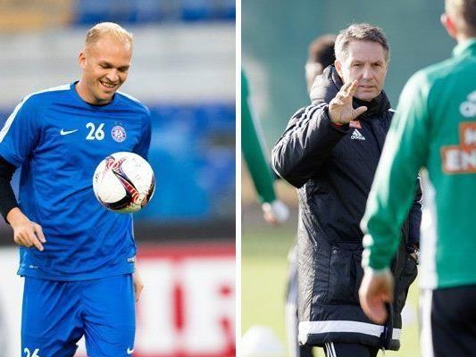 Die Austria und Rapid starten in der zweiten Jännerwoche in die Vorbereitung.