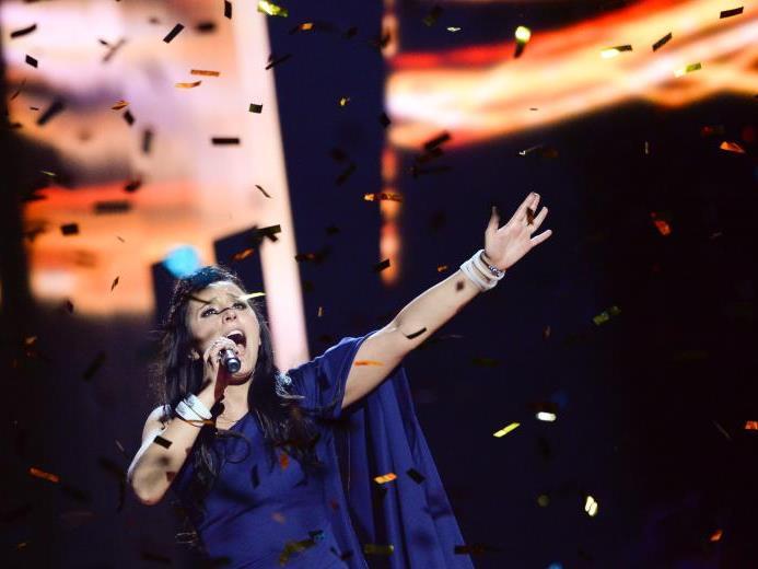 Jamala gewann im Vorjahr den ESC für die Ukraine.