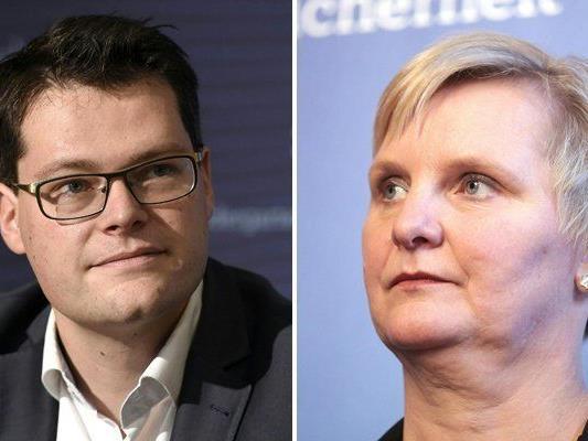 Jürgen Czernohorszky und Sandra Frauenberger werden neue Stadträte von Wien.