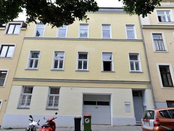 In diesem Haus in Währing soll der Mann seinen Stiefbruder erschossen haben.