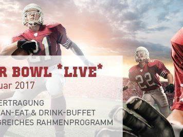 Am 5. Februar 2017 wird zur Super Bowl Night geladen.