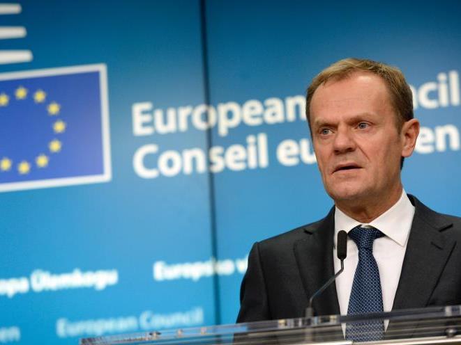 Mit EU-Ratspräsident Donald Tusk abgestimmt