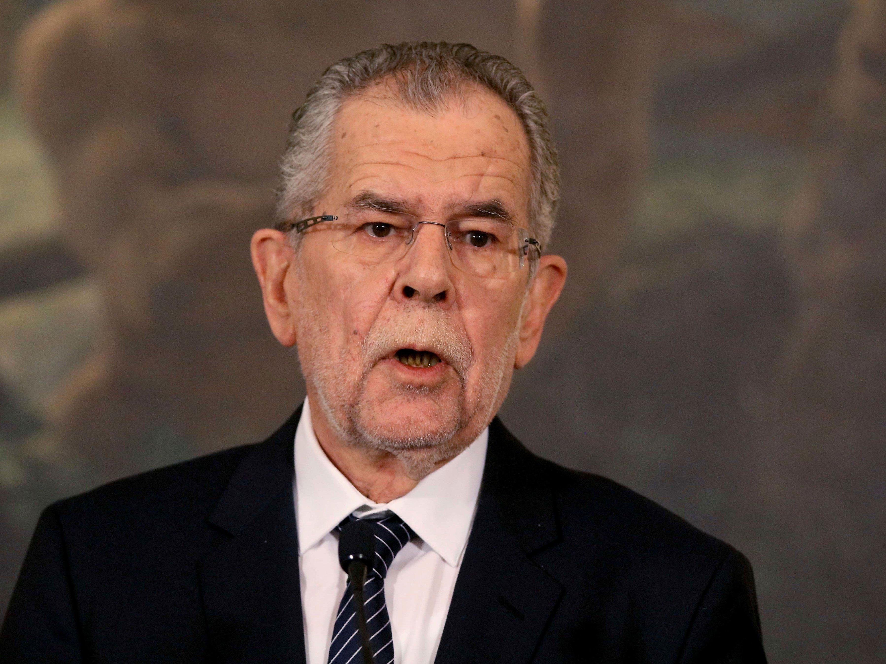 Alexander Van der Bellen wird am Donnerstag als Bundespräsident angelobt