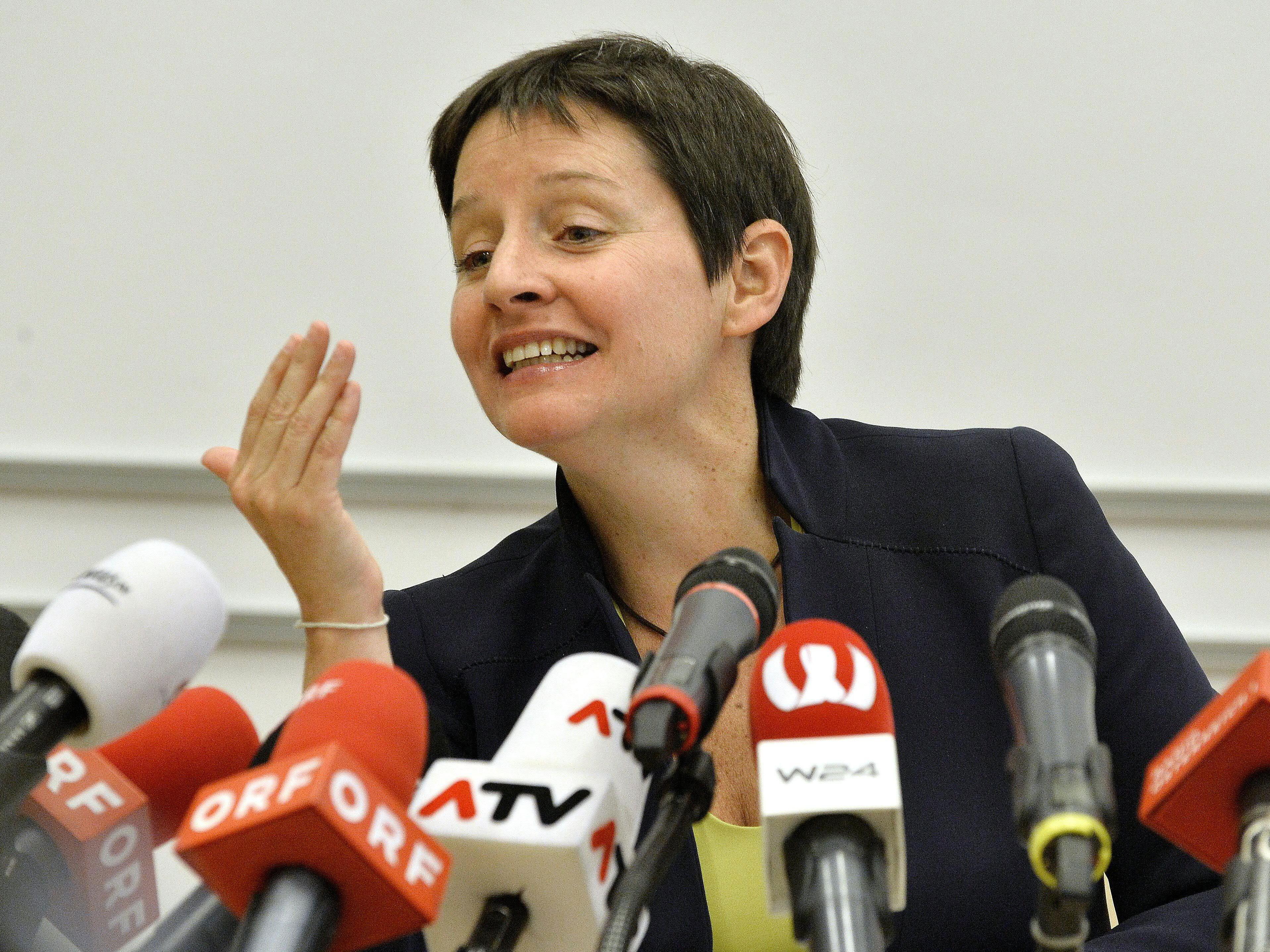 Gesundheits- und Sozialstadträtin Sonja Wehsely (SPÖ) geht