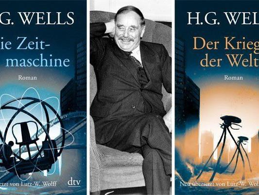 Zwei zeitlos schöne Science-Fiction-Klassiker von H.G. Wells wurden neu übersetzt