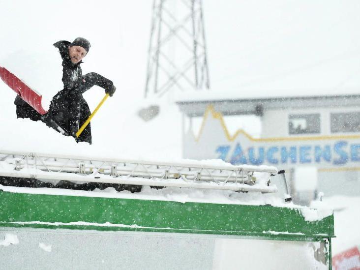 Kein Rennen heute in Zauchensee