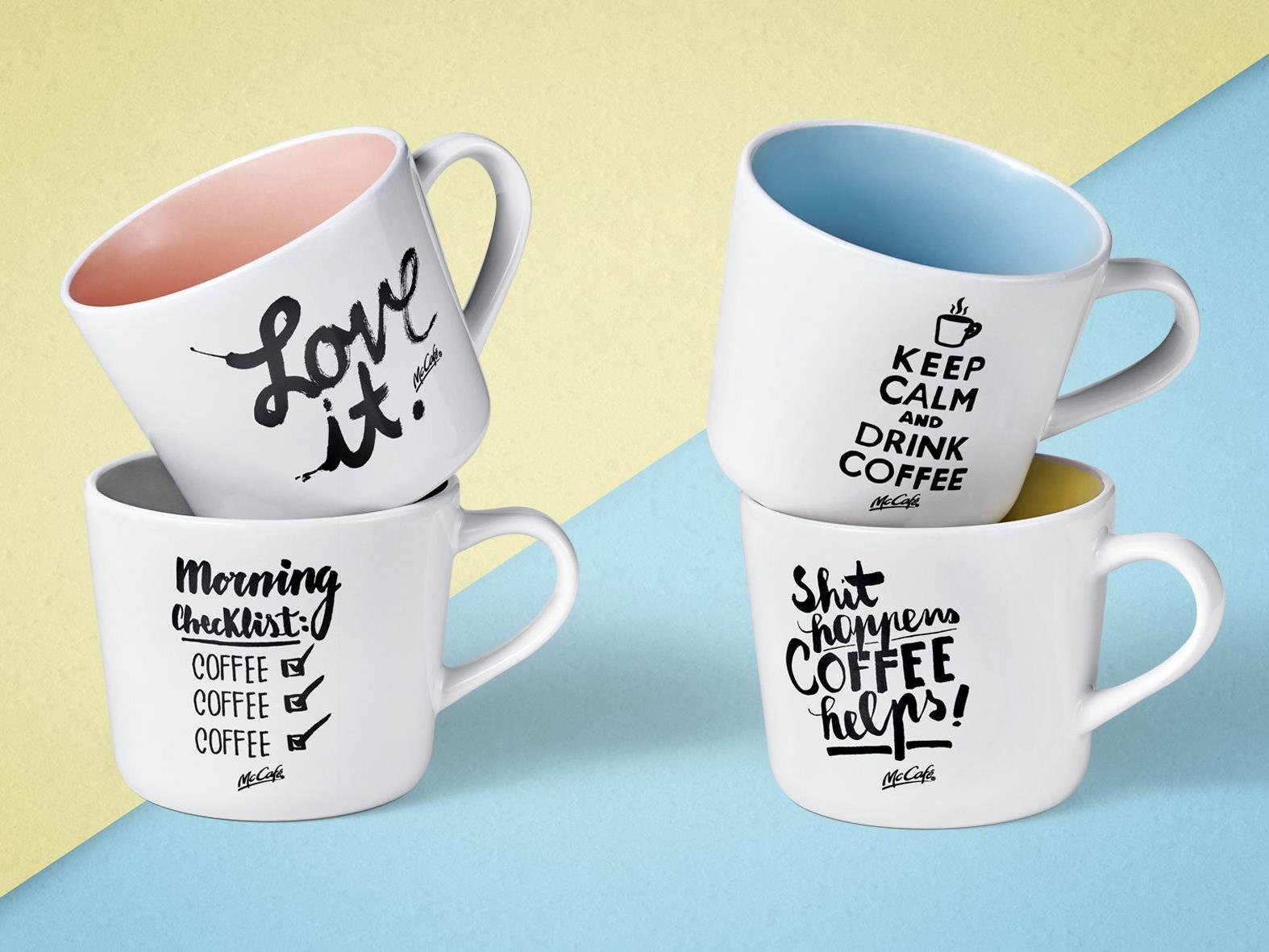neue tassen zu kaffee kuchen kombis bei mccaf. Black Bedroom Furniture Sets. Home Design Ideas